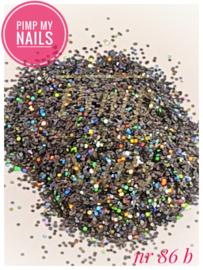 Pimp My Nails 86B grijs multi color