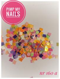 Pimp My Nails 160A color mix vierkant