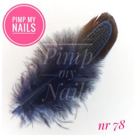Pimp My Nails 078 veertje grijs/blauw