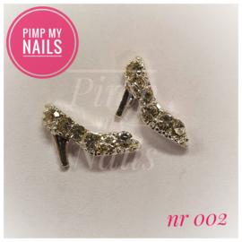 Pimp My Nails 002 pump met steentjes