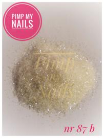 Pimp My Nails 87B wit/paars