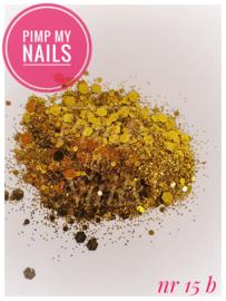Pimp My Nails 15B  geel/goud
