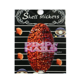 Pimp my Nails crushed shell stickers 001