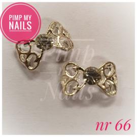 Pimp My Nails 066 open strik met 1 steentje