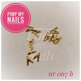Pimp My Nails 067 B V-tjes klein