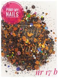 Pimp My Nails 17B oranje/blauw