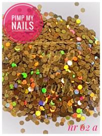 Pimp my Nails 62A goud multi color