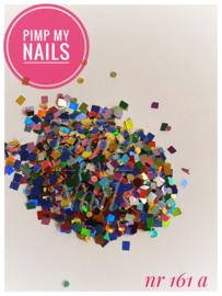 Pimp My Nails 161A multi glans rond&vierkant mix
