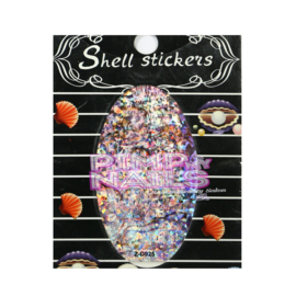 Pimp my Nails crushed shell stickers 002