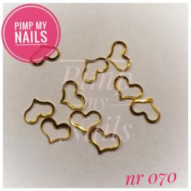 Pimp My Nails 070 open hartjes