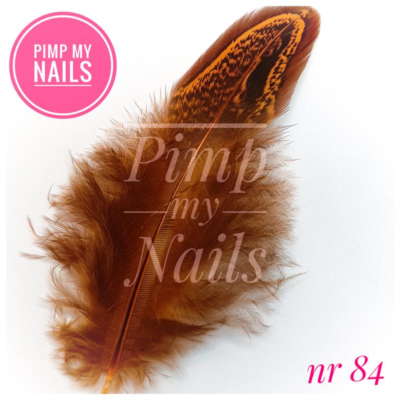 Pimp My Nails 084 veertje bruin