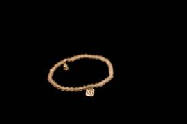 Ibiza armbandje met echt zilveren bedeltje (Artikel Nr. 2)