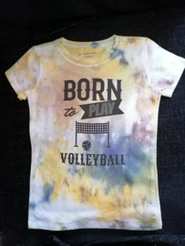 Born To Play Volleyball maat 98/104