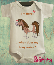 When does my pony arrive?!