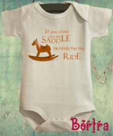 Climb into the saddle