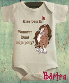 Wanneer komt mijn pony?