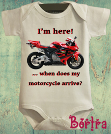 When does my motorcycle arrive?