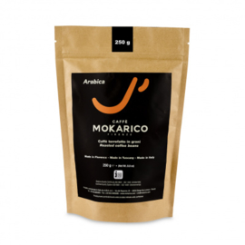 Mokarico Arabica Blend koffiebonen 250gr