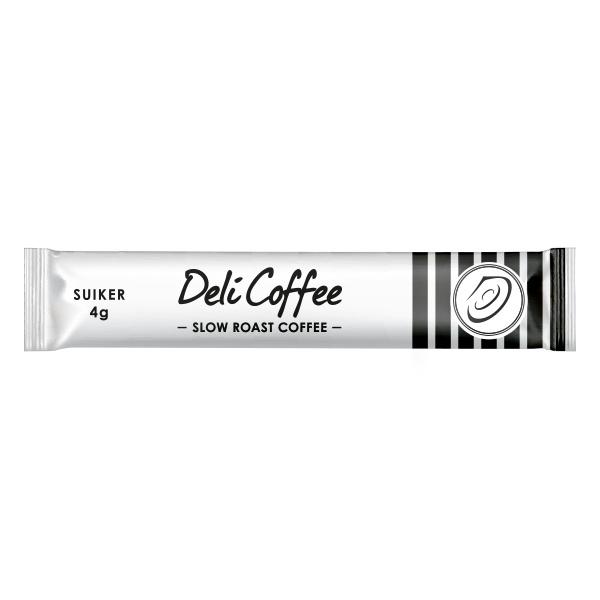 DeliCoffee Suikersticks - Doos 600x4gr