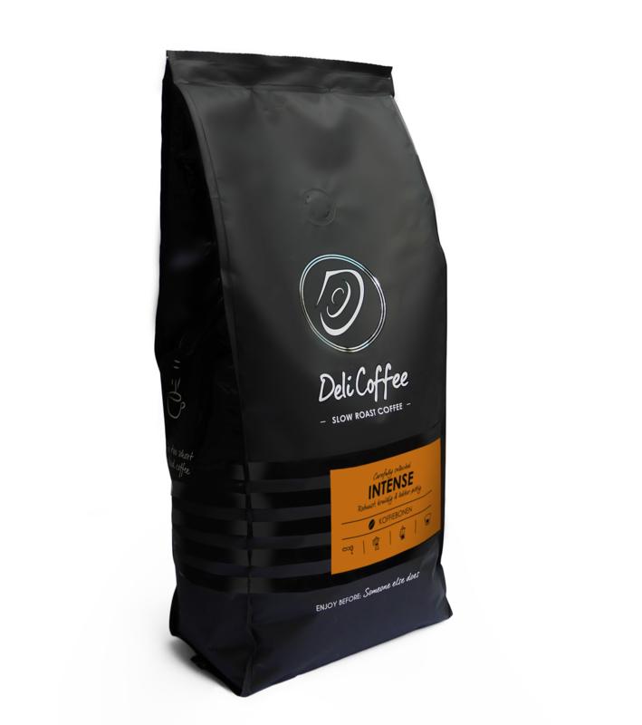 DeliCoffee Intense Koffiebonen 1kg