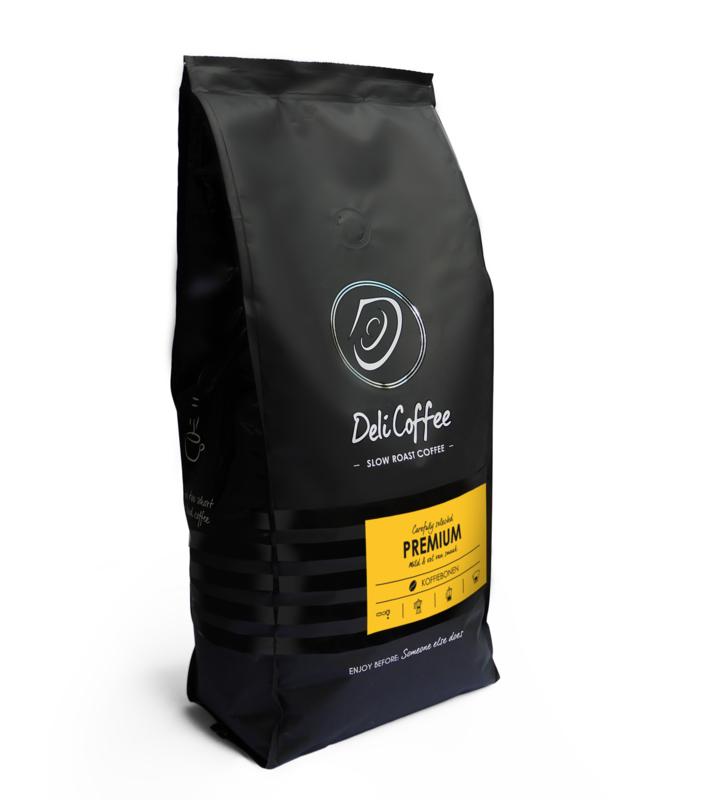 DeliCoffee Premium Koffiebonen 1kg