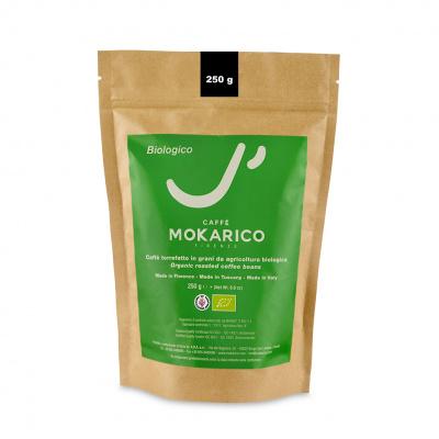 Mokarico Bio koffiebonen 250gr