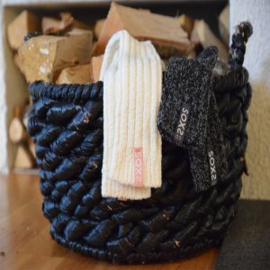 SOXS - Leg Warmer - Off White Wool with Nude Label (Woman's)