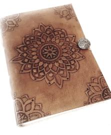 Notitieboek/dagboek  leer