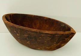 Houten Schaal Canoe