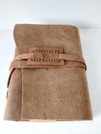 Notitieboek leer, only naturals