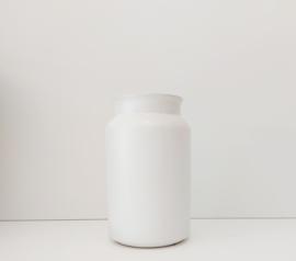 Melkbus mat wit