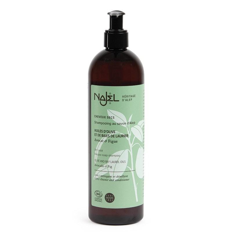 Aleppo Shampoo 2-in-1 voor normaal haar BIO -- 500 ml