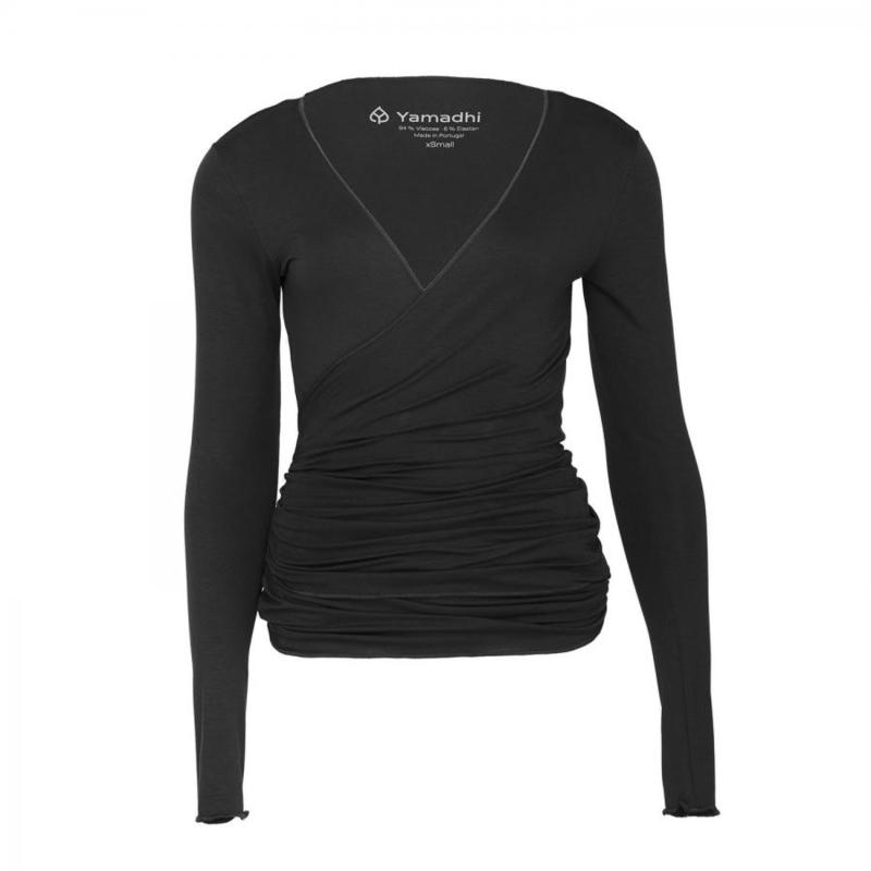 Yamadhi Wrap Jacket Black