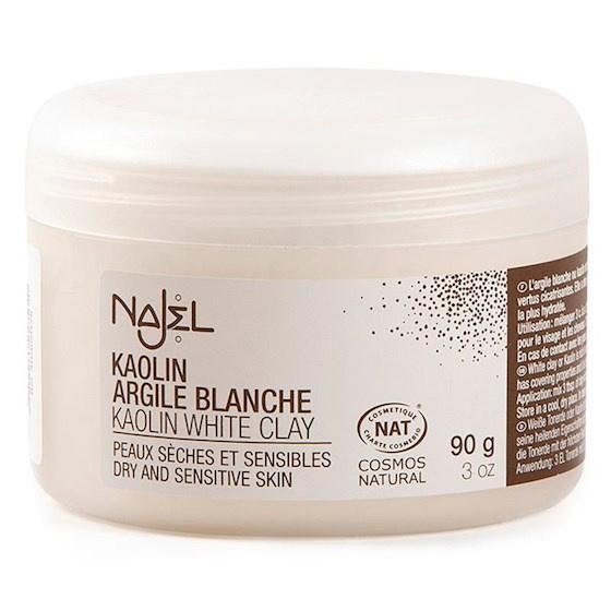 Witte kleipoeder voor gezichtsmasker -- 90 g