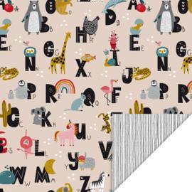 Traktatieset Alfabet dieren | 15 stuks/ 25 stuks/ 40 stuks