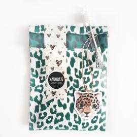 Cadeauzakjes Jaguar wild green | 5 stuks