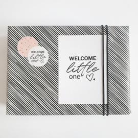 Cadeaustickers Welcome little one | 10 stuks