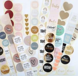Voordeelmix van 50 stickers
