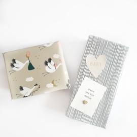 Cadeaupapier Baby Bird | 2 meter