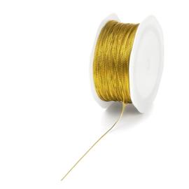 Gevlochten touw goud | 3 meter