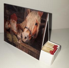 Lucifersdoosje 'paard'
