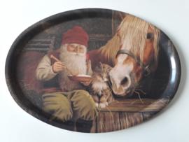 dienblad klein 'paard'