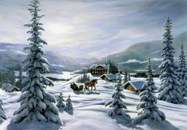 Kerstkaarten Bergerlind 496