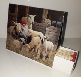 Lucifersdoosje 'schapen'