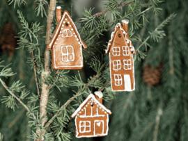 Kerstboomhanger 'peperkoekhuisje'