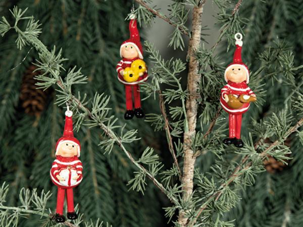 Kerstboomhanger 'kinderen' 3 designs