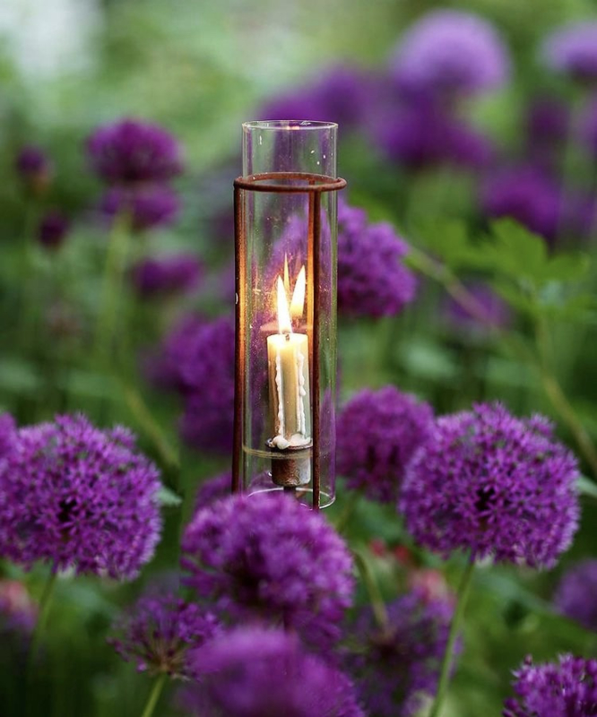 Tuinsteker kaarsenhouder