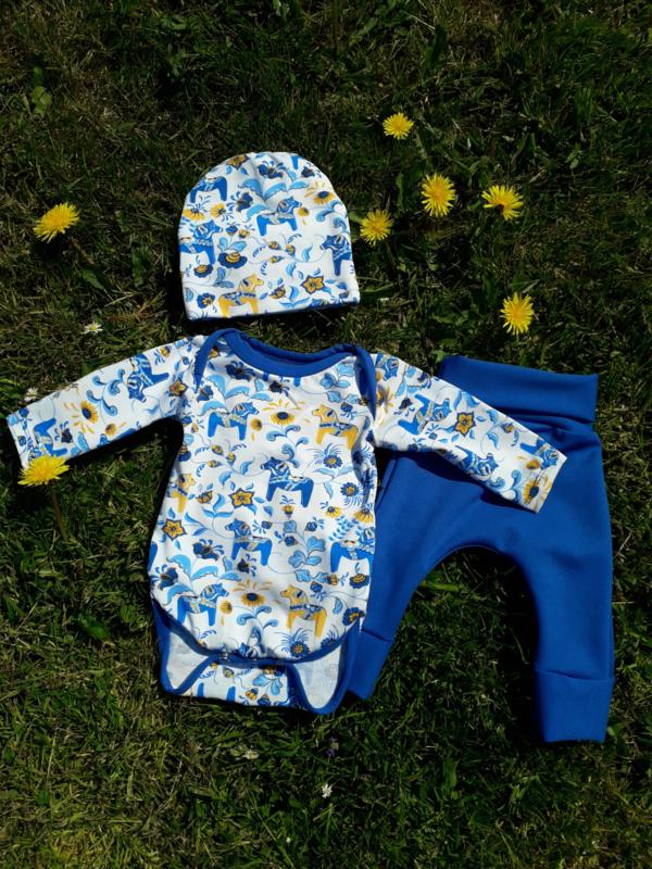 baby/peuterset 'dala' blauw