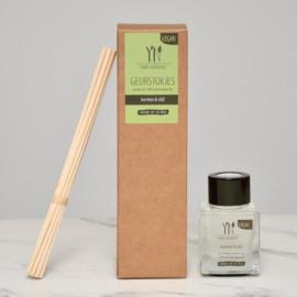 Geurstokjes Bamboe & Olijf