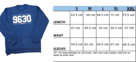 Sweater 9630 Zwart